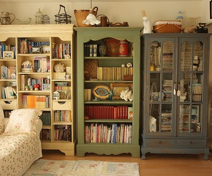 book, home, and vintage image