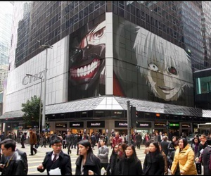 ghoul, red eye, and kagune image