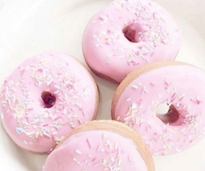 donuts and rose pale image