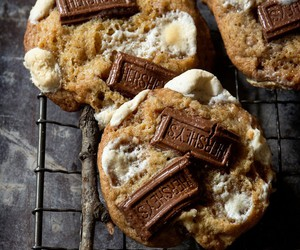 chocolate, Cookies, and marshmallow image