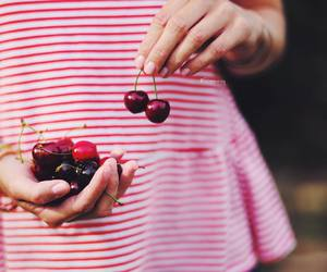 cerise, cherry, and food image