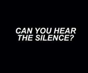 silence, black, and bmth image