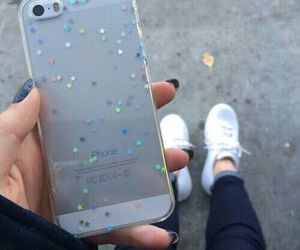 iphone, stars, and case image