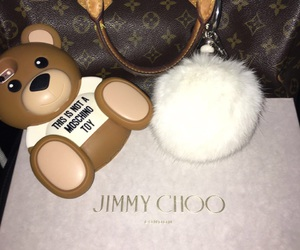 Louis Vuitton, goals, and Jimmy Choo image