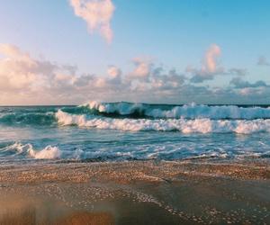 beach and sky image