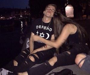 couple, grunge, and boy image