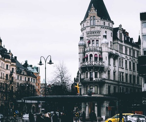city, sweden, and travel image