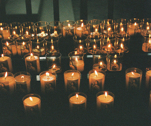 candle, light, and Darkness image