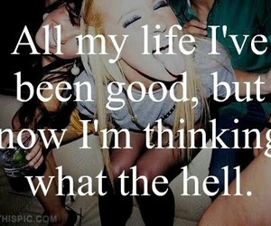 Lyrics, what the hell, and lavigne image