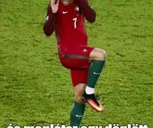 funny, Ronaldo, and magyar image