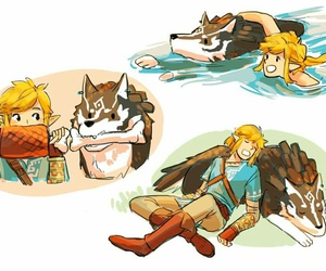 breath, link, and wild image