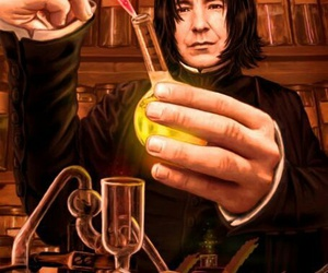book and severus snape image