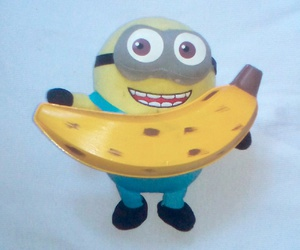 banana, FRUiTS, and yellow image