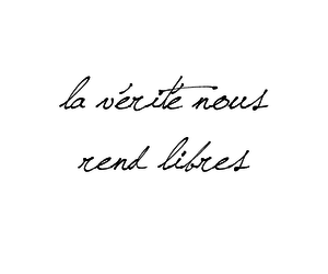 french, vérité, and liberte image