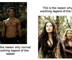 actors, actres, and legend of the seeker image