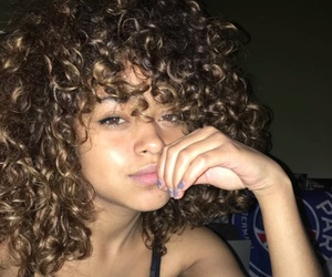 beautiful and curly image