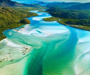 nature, travel, and australia image