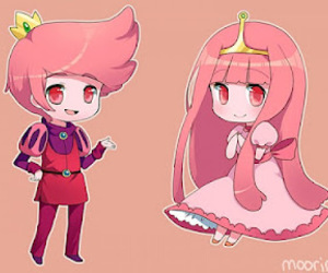 adventure time, princess bubblegum, and prince gumball image