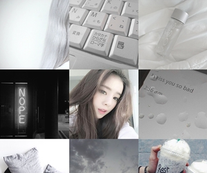 aesthetic, gray, and moodboard image