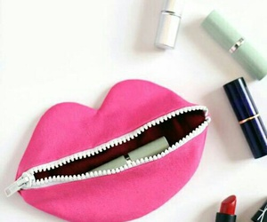 girl, facil, and labiales image