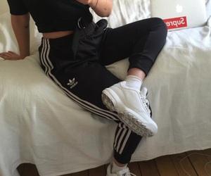 adidas and girl image