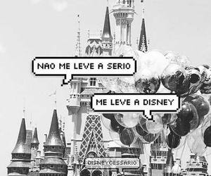 baloes, black and white, and disney image