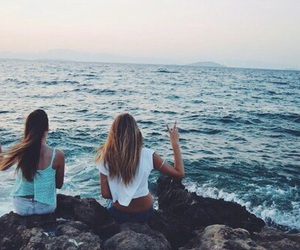 summer, friends, and love image