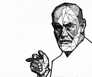 art, detail, and freud image