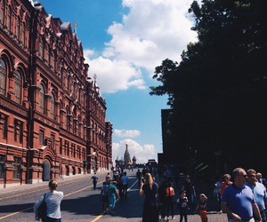 city, moscow, and Red Square image