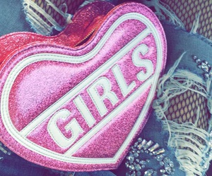 girl, heart, and outfit image