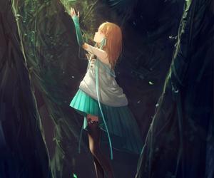 anime, girl, and fantasy image