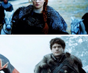 stark, game of thrones, and iwan rheon image