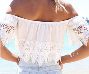 hat, off shoulder shirt, and style image
