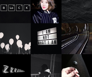 aesthetic, black, and grunge image