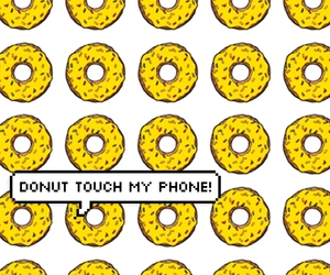 background, wallpaper, and donut image
