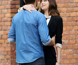 fiftyshadesofgrey, christiangrey, and dakotajohnson image