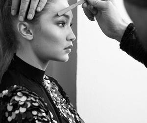 gigi hadid, makeup, and model image