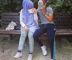 couple and thug image