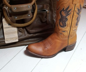 boots, leather, and cowboyboots image