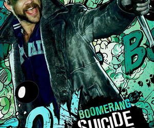 suicide squad, boomerang, and captain boomerang image