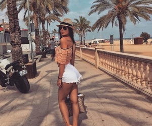 summer, beautiful, and style image