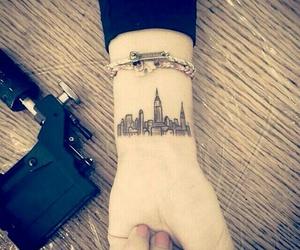 tattoo, city, and new york image