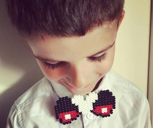 beads, bow, and bowtie image