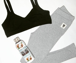 gym, stay fit, and leggins image