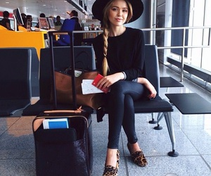 fashion, style, and airport image