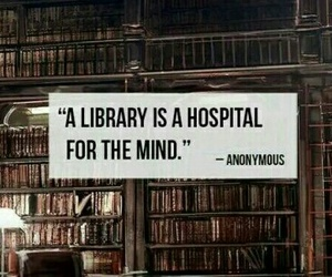 book, library, and mind image