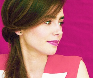 lily collins, pretty, and mortal instruments image
