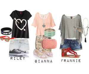 Polyvore and around the teenagers image