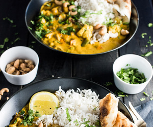 coconut, creamy, and vegetarian image