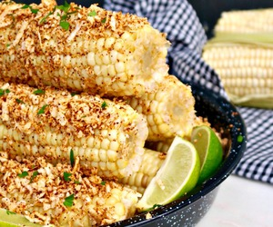 corn, mexican, and on image